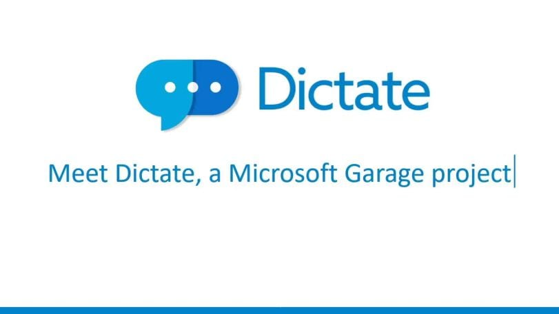 Latest Microsoft Garage project brings Cortana-based voice dictation to Office
