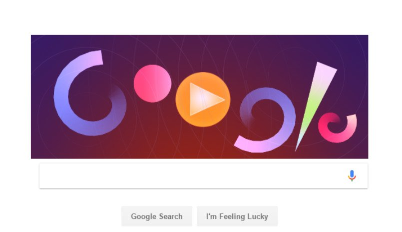 Amazing Google Doodle honors Oskar Fischinger, who made music for your eyes