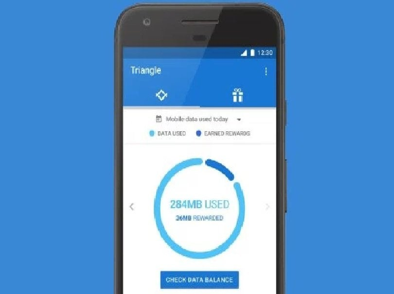 Google's New Triangle App will Help you Save Data