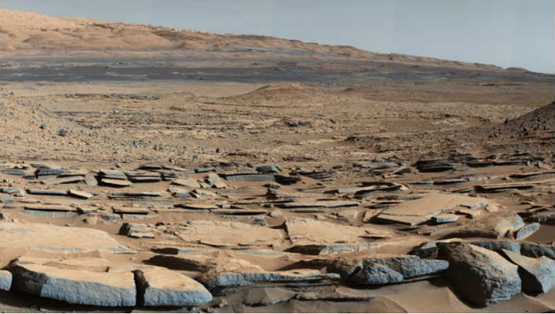 NASA's Opportunity Mars rover spots evidence of ancient lake on Mars