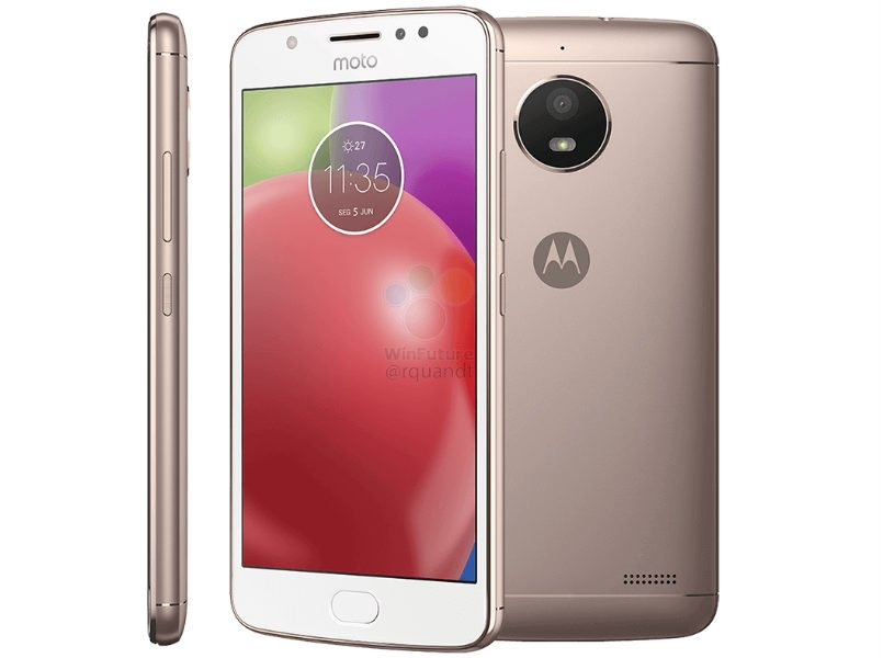 Motorola Moto E4 fresh leaked renders reveal blue, grey and gold color variants