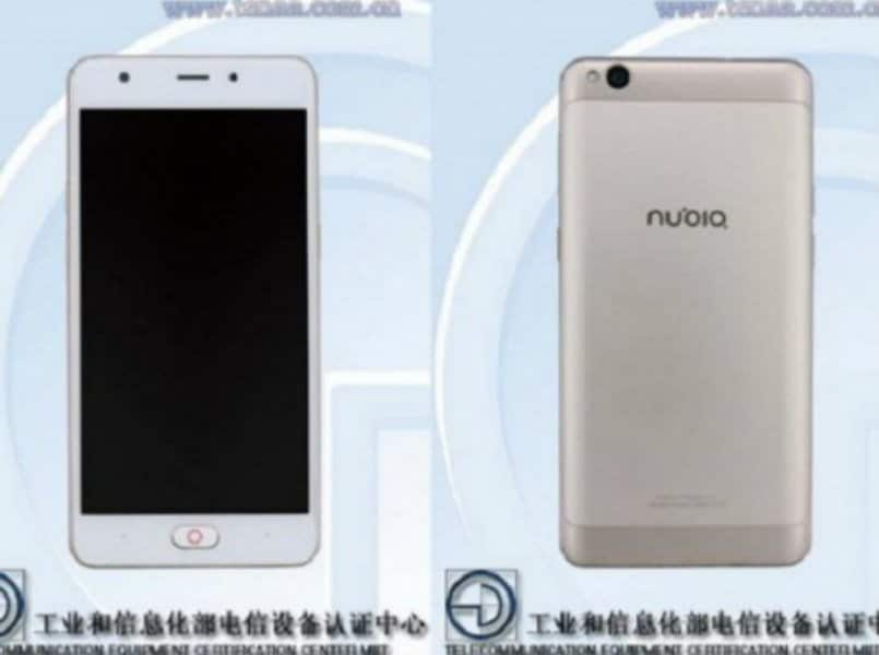 Nubia NX907J with 2GB of RAM, Android Marshmallow spotted on TENAA: Specification, features