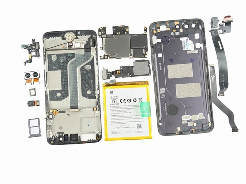 OnePlus 5 teardown reveals strong overall build with loose connectors inside