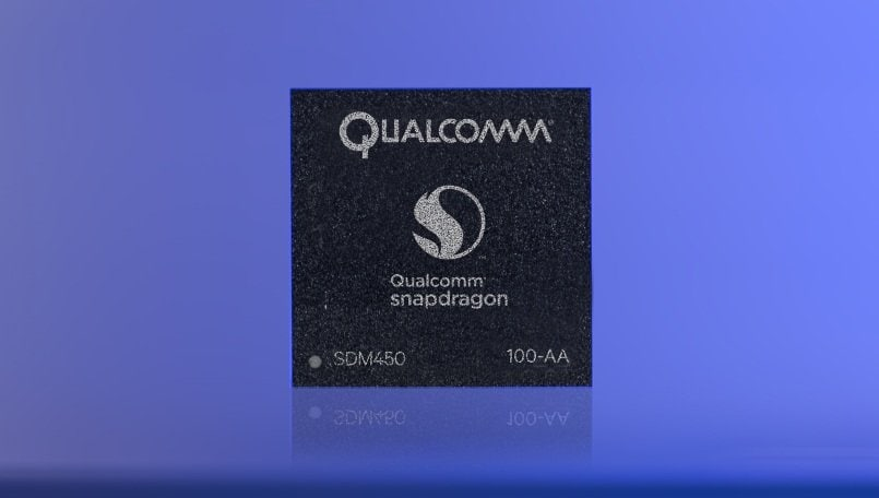 Qualcomm Snapdragon 450 entry-level mobile chipset announced