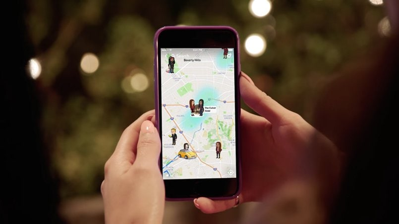 Snapchat borrows from instagram introduces snap map for location snapchat snapmap 01 ccuart Image collections