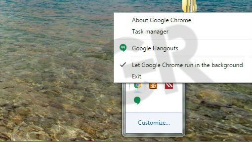 stop chrome background usage