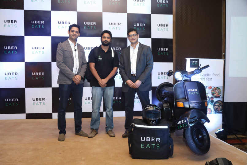 Uber launches UberEATS in Delhi NCR