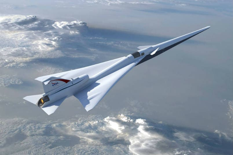 NASA Takes Big Step Towards A Quieter Supersonic Plane