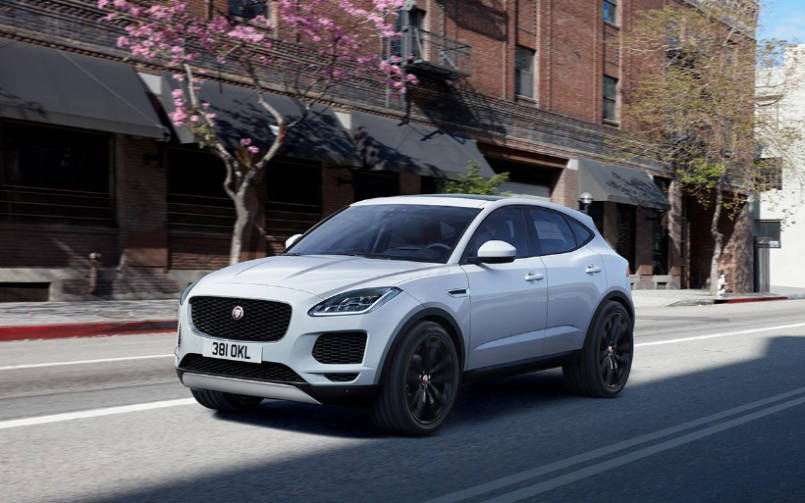 2017 jaguar e pace here s all that is geeky about this work of engineering bgr india. Black Bedroom Furniture Sets. Home Design Ideas