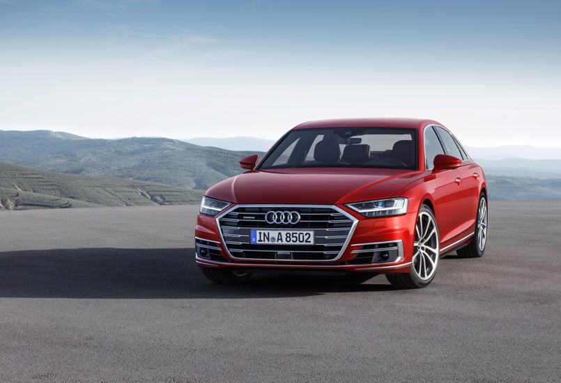 Audi A8 Is Level 3 Self-Driving Car With Traffic Jam Pilot