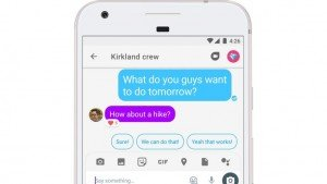Google Allo lets you react to individual messages, 'heart' what you like