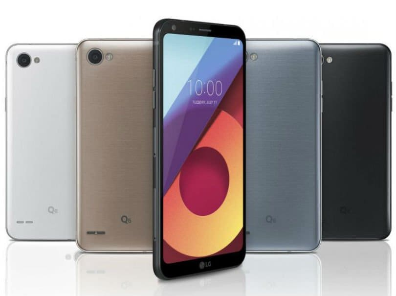LG Q6 spotted on benchmarking site ahead of official unveiling