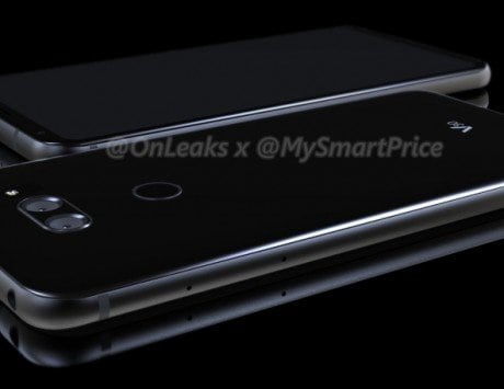 LG V30 renders give a closer look at the smartphone, no secondary display in sight