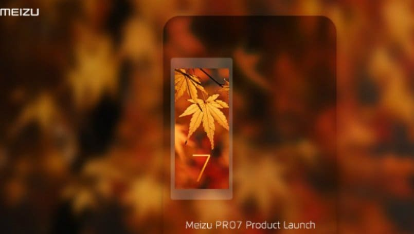 Leaked Meizu Pro 7 Images Show Brushed Metal Body