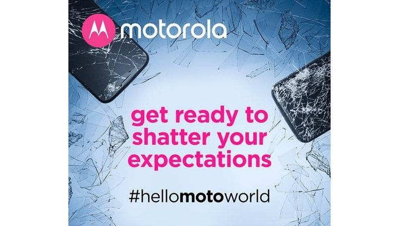 Motorola's new teaser hints towards a shatterproof display