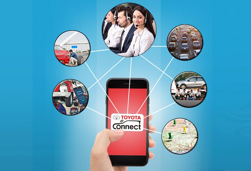 Toyota Connect Smartphone Application Launched In India