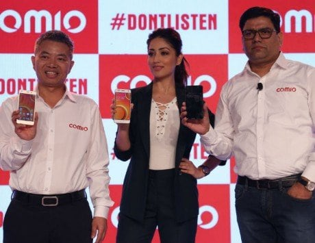 Comio C1, S1, P1 smartphones launched in India, prices start from Rs 5,999