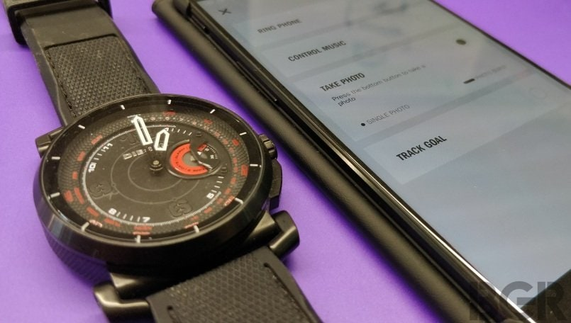 diesel on time hybrid smartwatch app 2