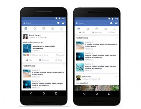 Facebook will now show 'Related Articles' to fake news links