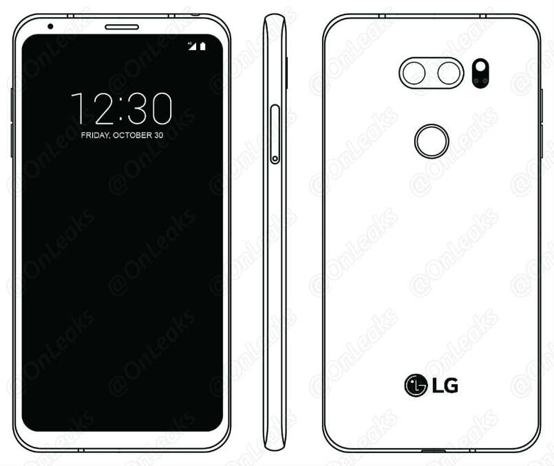 LG V30's secondary display screen will be absent class=