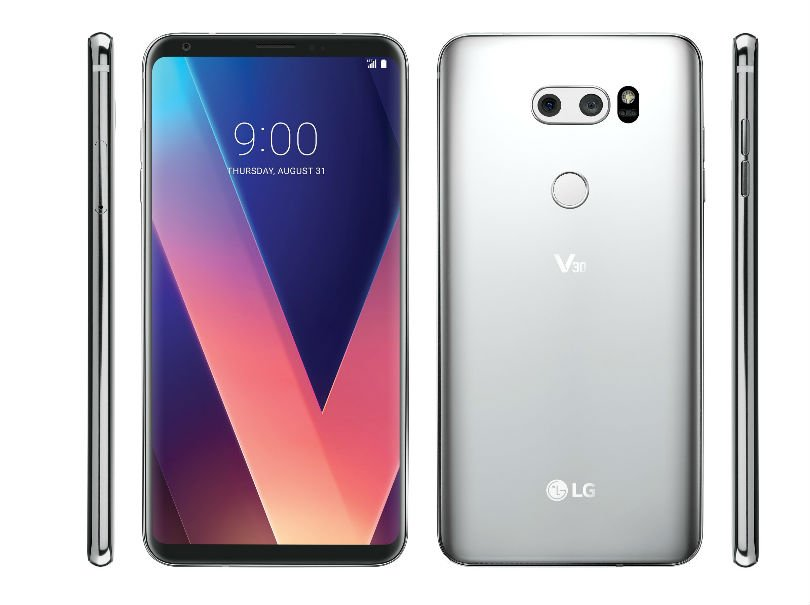 LG V30 now gets a attractive  OLED Screen losing the Gimmicks