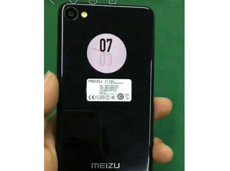 Meizu X2 smartphone with dual circular display leaked