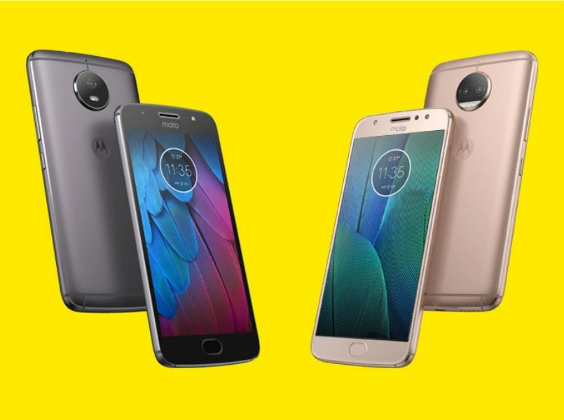 Motorola announces G5S and G5S Plus