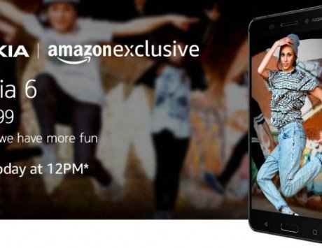 Nokia 6 set to go on sale for the first time on Amazon India at 12PM