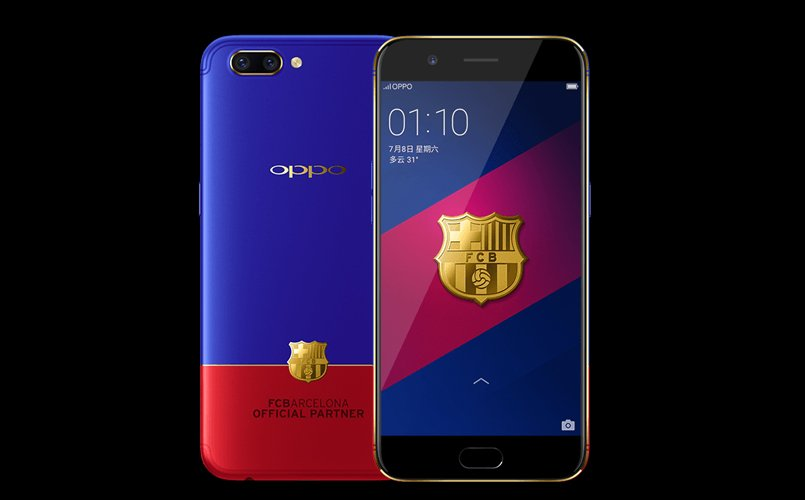 Oppo R11 FC Barcelona Edition launched: Price, specifications, features