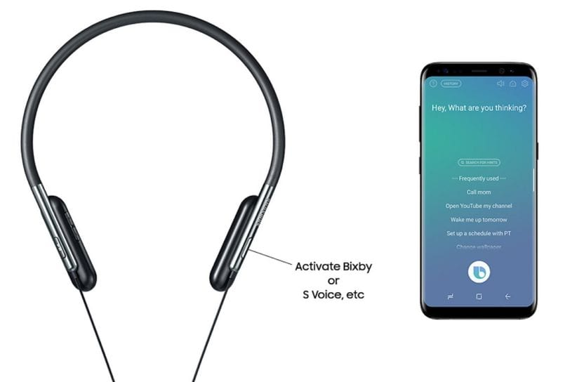 samsung launches flexible u flex headphones with bixby
