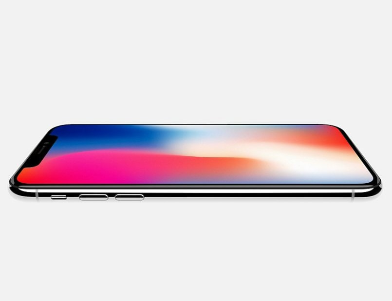 detailed look 47f45 43230 Apple iPhone X with all-screen display, wireless charging launched ...