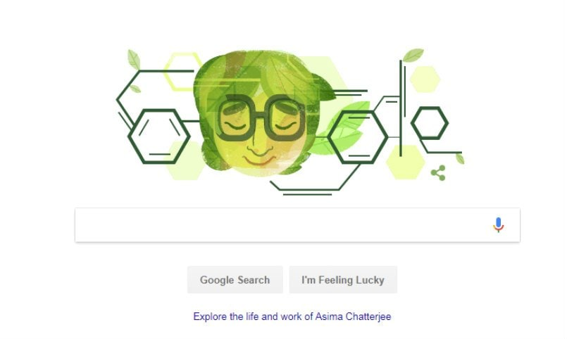 Google celebrates 100th birthday of Indian chemist Asima Chatterjee with new doodle
