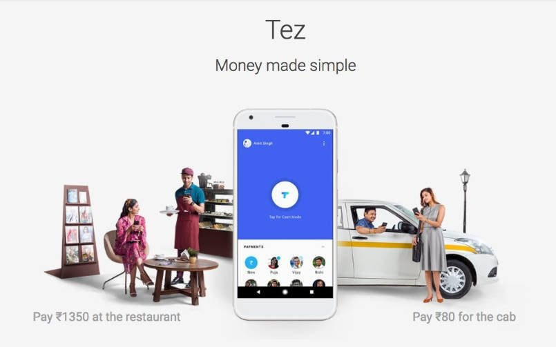 Google Tez, a UPI-enabled digital payment app, launched in India