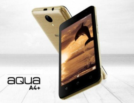 Intex Aqua A4+ with Android 7.0 Nougat, 4G VoLTE launched in India for Rs 3,999: Specifications, features