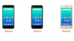 Micromax Bharat 2 Plus, Bharat 3, and Bharat 4 announced: Specifications, features