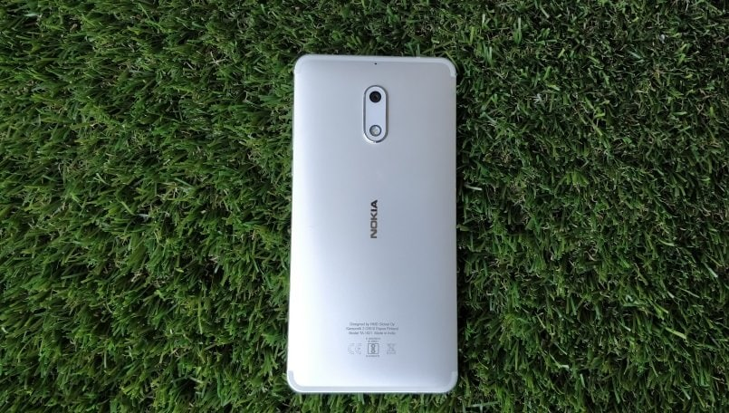 nokia 6 review back