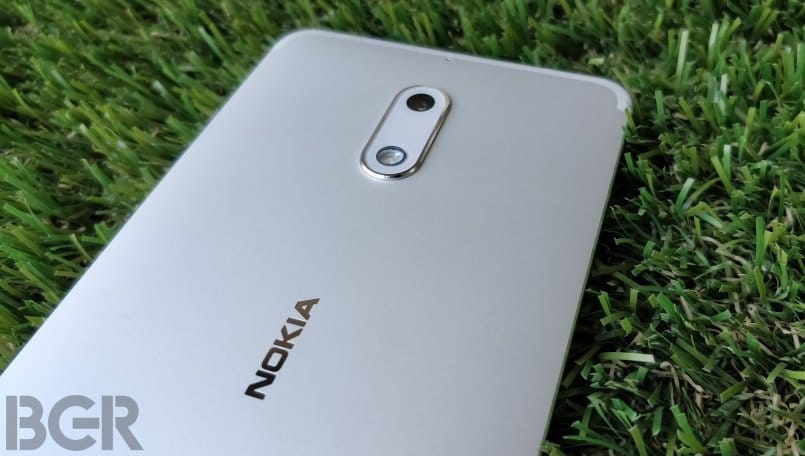 nokia 6 review logo