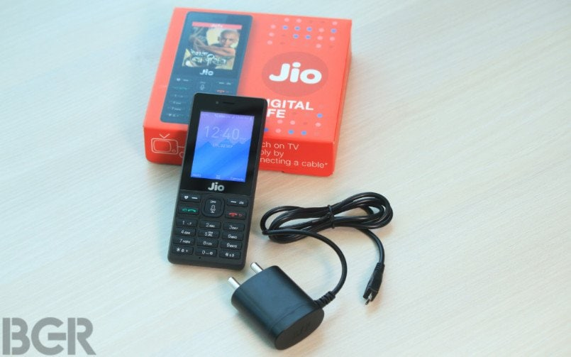 15192b0d6 Reliance JioPhone now available on Amazon India for Rs 1