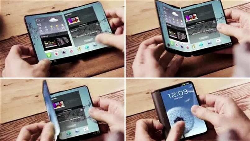 Samsung Galaxy X user interface detailed in a new patent