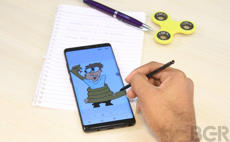 samsung galaxy note 8 review lead
