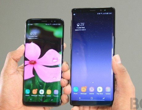 Samsung Galaxy S8 and Note 8 Android 10 could be in the works