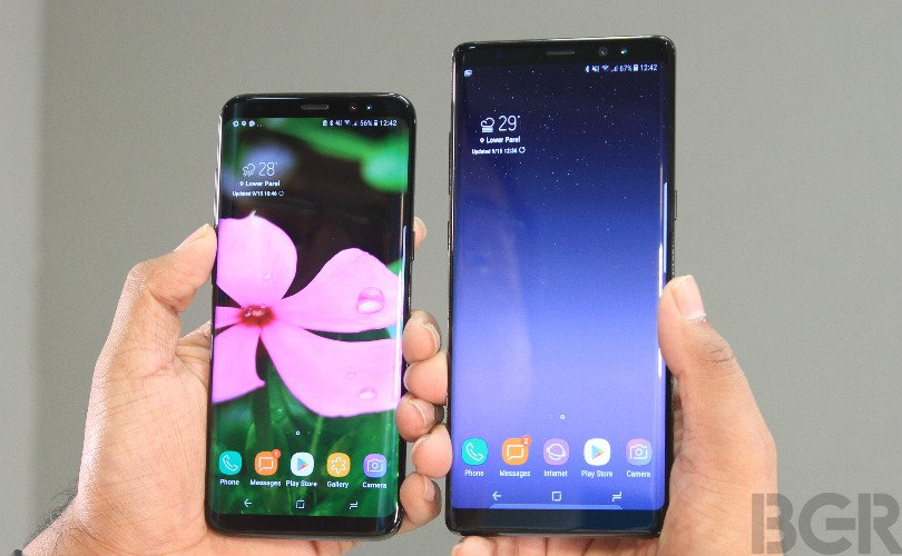 mobile spy iphone 8 Plus or samsung galaxy note 8