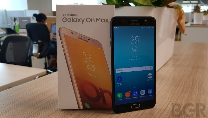 Samsung Galaxy J7 Max, Galaxy On Max starts receiving Android 8.1 Oreo update in India