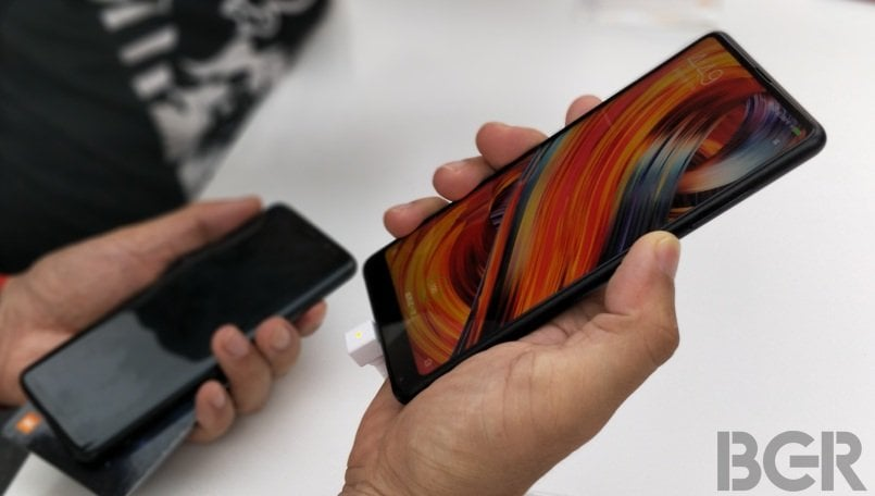 Xiaomi Mi MIX 2s teaser suggests it won't have a notch for the front camera