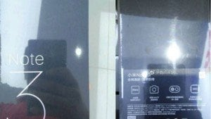 Xiaomi Mi Note 3 retail box leaked ahead of launch, confirms Snapdragon 660 SoC, 6GB RAM