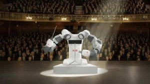 What's common to a Swiss humanoid robot, an Italian tenor and a Tuscan orchestra