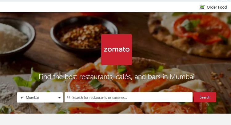 Zomato Expands Food Delivery Services On Zomato Order Platform In
