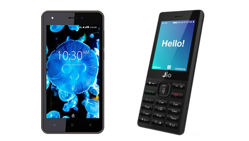 airtel karbonn a40 indian vs jiophone