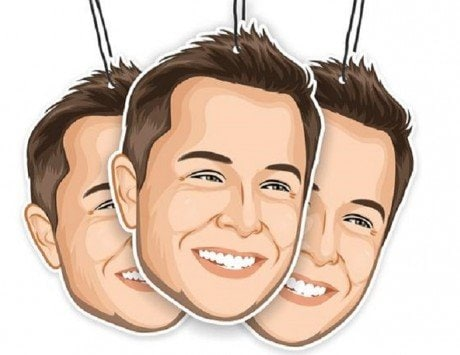Elon Musk air freshener is a thing, but let's first talk about how creepy that is