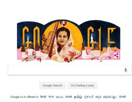 Begum Akhtar's 103rd birthday celebrated with a special Google Doodle